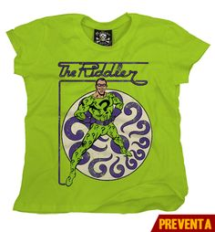 """Camiseta The Riddler""  morra  disponible en www.kingmonster.com.mx"