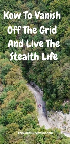 If you've ever wanted to really vanish off the grid and live the stealth life, or just protect your privacy this will show you how to get started.. http://www.thegoodsurvivalist.com/how-to-vanish-off-the-grid-and-live-the-stealth-life/