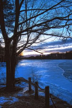 ✯ Winter in New Hampshire to visit our daughter and her family and I just love it.  ;-)