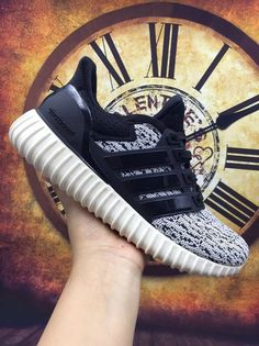 60d5781dca2c Aha Beautiful Shoes · Adidas Yeezy Ultra Boost 2016-2017 Core Black Grey UK  Trainers 2017 Running Shoes