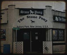 The Stone Pony, Asbury Park, New Jersey.