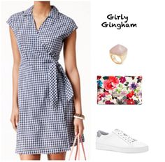 Fab Finds | We Styled 4 Outfits On Sale at Macy's « Mom Style Lab @macys #friendsandfamilysale #ootd #springfashion #gingham
