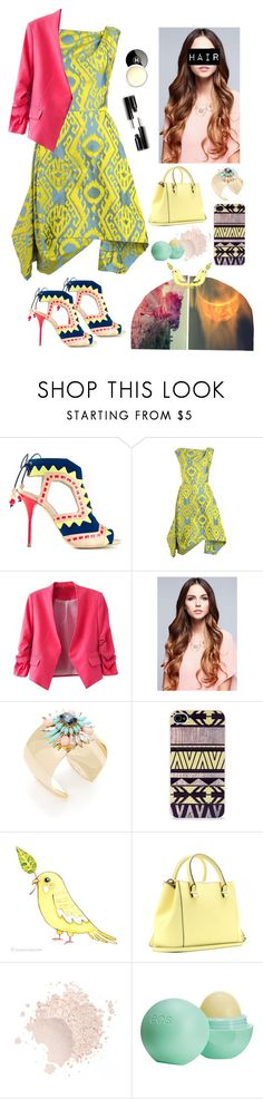 """YOU gotta a girl that doesn't look a thing like me"" by lifeinpictures ❤ liked on Polyvore featuring Sophia Webster, Vivienne Westwood Anglomania, Leslie Danzis, BlissfulCASE, WALL, Victoria Beckham, Topshop, Chanel, Forever 21 and Random"