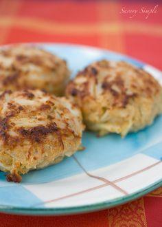 Authentic Maryland Jumbo Lump Crab Cakes ~ @Jennifer Farley | Savory Simple