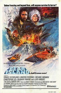Bear Island (1979) GB United Artists Thriller. Written by Alistair Maclean and directed by Don Sharp. Donald Sutherland, Vanessa Redgrave, Richard Widmark, Christopher Lee, Barbara Parkins, Lloyd Bridges. 18/11/05
