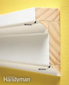 How To Install Trim Molding - great post shows how to choose trim, how to layer molding and how to attach it. Lots of great pictures show each step.