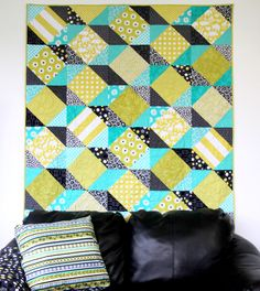 Zig Zag from Think Fast! by Swirly Girls Design  Love the 3D effect