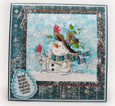 Mr. Frosty available at Whimsy Stamps