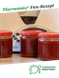 Erdbeer-Bananen Marmelade von K2107. Ein Thermomix ® Rezept aus der Kategorie Saucen/Dips/Brotaufstriche auf www.rezeptwelt.de, der Thermomix ® Community.
