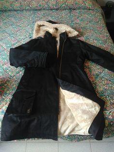 www.stiletico.com: Annuncio vendita: Ladies Long Hoodlamb Coat nero taglia XXL