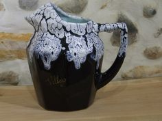 Vintage French Water Jug // French Wine Jug // Vallero Gallery // Water Pitcher // Wine Pitcher // - pinned by pin4etsy.com