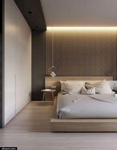 Modern Master Bedroom, Modern Bedroom Decor, Master Bedroom Design, Contemporary Bedroom, Bedroom Small, Master Suite, Cozy Bedroom, Bedroom Designs, Small Rooms