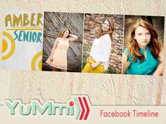 INSTANT DOWNLOAD psd graduation facebook timeline cover for photographers professional - Y514