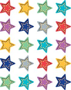 Stickers are great for rewards, encouragement, prizes, arts and crafts, incentive charts and more. Stickers are acid-free and lignin-free. Stickers measure approximately Each pack includes 120 stickers. Bundle includes 6 packs for a total of 720 stickers. School Board Decoration, Class Decoration, School Decorations, Room Decorations, Star Themed Classroom, Classroom Walls, Classroom Decor, Online Classroom, Reward Stickers
