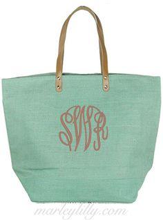 50th Birthday Keepsake Gift Large Jute Bag for Women Novelty Shopping Tote