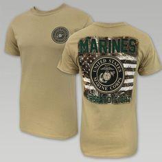 2b1f9d694b6 MARINES REALTREE FLAG T (SAND). Usmc ClothingMarine CorpsMarine ...