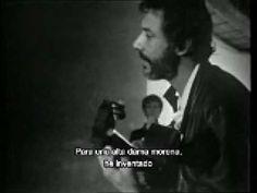 'La Dame Brune': la cantante Barbara con el compositor de la canción Georges Moustaki) Subtitulada - YouTube