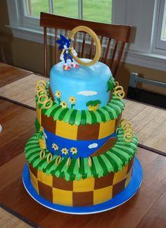 Huge Sonic the Hedgehog 2 Logo Made with Beads [pic] - Global Geek News Sonic Birthday Cake, Sonic Birthday Parties, Sonic Party, Happy Birthday, 10th Birthday, Birthday Cakes, Bolo Sonic, Sonic Cake, Sonic The Hedgehog Cake