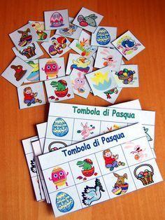Il memoriy e la tombola di pasqua da stampare / Easter Bingo - Easter mamory free printables
