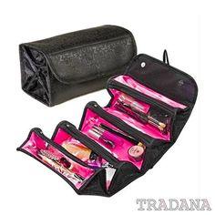 Kosmetiktasche Kulturbeutel Kulturtasche Reise Kosmetik Tasche schwarz pink NEU in Beauty & Gesundheit, Make-up, Make-up Taschen & Koffer   eBay