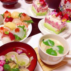 ♡初節句♡3/1 ひな祭りパーティー♪