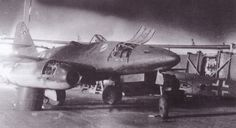 Me 262 A-1a W.Nr.112385 Yellow 8 of 3./JG 7. captured on April 15th 1945 at an airfield between Steindal and Borstel.