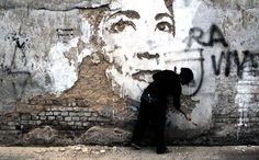 Deconstructed Wall Art by Alexandre Farto, aka VHILS