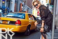 rita ora dkny campaign1 See Rita Ora in the DKNY Resort 2014 Campaign