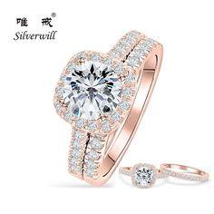 Lady//Women/'s Silver 14KT White Gold Filled Tanzanite Bague de mariage cadeau taille 6-10