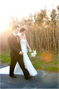 Rhode Island wedding, bride and groom