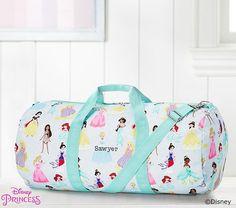 c9d9ffe5ce Mackenzie Aqua Disney Princess Large Duffle Bag