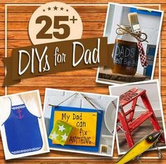 25+ DIY Gifts for Dad this Father's Day