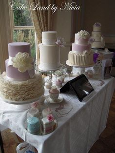 Wedding fayre! - Cake by Nivia