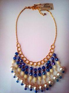 Collar Blue. Nueva coleccion