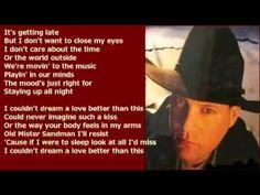 John Michael Montgomery - I Couldn't Dream ( + lyrics 1998)