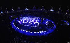 GOSH. From London. Opening Ceremony 2012 Photos: Stunning Images From The London Olympics Opening Ceremony