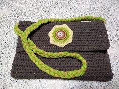 Pochette uncinetto e tricotin