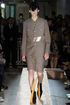 Comme des Garçons Spring 2015 Menswear Collection - Vogue
