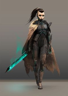 Sci-Fi Fantasy character concepts