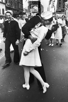That D day kiss ....
