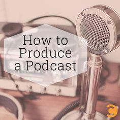 How to Produce a Podcast via BuzzSumo
