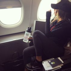 Chantel Jeffries shared by A on We Heart It Travel Goals, Travel Style, Travel Fashion, Travel Wear, Travel Outfits, Plane Travel Outfit, Chantel Jeffries, Best Luggage, Airport Style