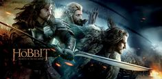 Thorin & the Boys -- banner for Hobbit: Battle of the Five Armies