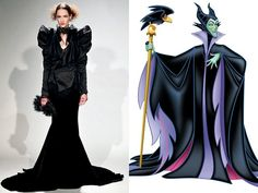 If Disney Villains Wore Marchesa? | @charliepea_com