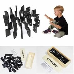 28pcs Childrens Wooden Boxed Domino Game Play Set Traditional Classic Toy Gifts by Completestore ** Read more reviews of the product by visiting the link on the image.