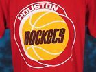 For Sale - vintage 80s HOUSTON ROCKETS STARTER T-Shirt LARGE nba basketball texas soft thin - See More At http://sprtz.us/RocketsEBay