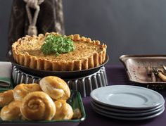 Cauliflower and Leek Soufflé - without shell for Passover