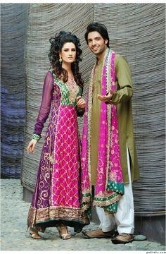 Pakistani Mehndi night dress