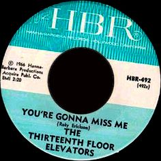 HBR. Click the image to join the Thirteenth Floor Elevators Facebook group!