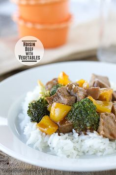 Hoisin Beef with Vegetables {Cookbook of the Month Recipe} - Taste and Tell